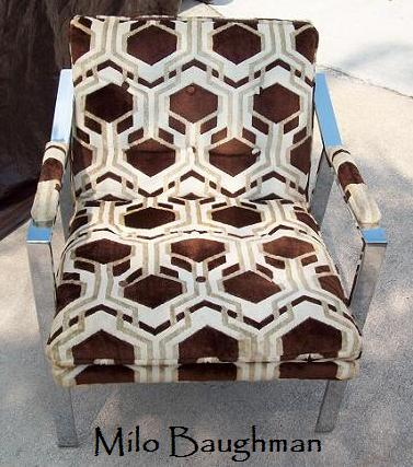 Milo Baughman chair 1970 1