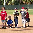 Sean at T-Ball Practice~